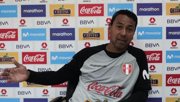 Nolberto Solano considera que sí es posible armar una selección con jugadores locales para competir en las Eliminatorias. (Foto: GEC)