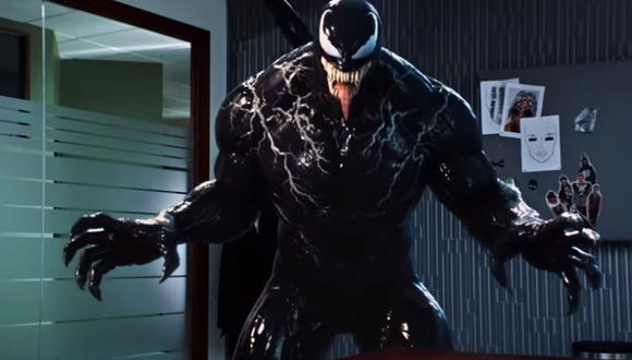 """""""Venom"""" se convierte en mascota de la NFL en divertido video promocional con el que se anuncia el estreno de la película. (Foto: Captura de YouTube)"""