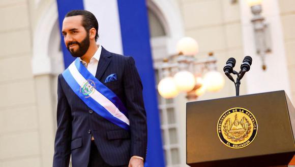 El presidente de El Salvador, Nayib Bukele, cierra la puerta a aborto y matrimonio igualitario en reforma constitucional. (EL SALVADOR'S PRESIDENCY PRESS OFFICE / AFP).