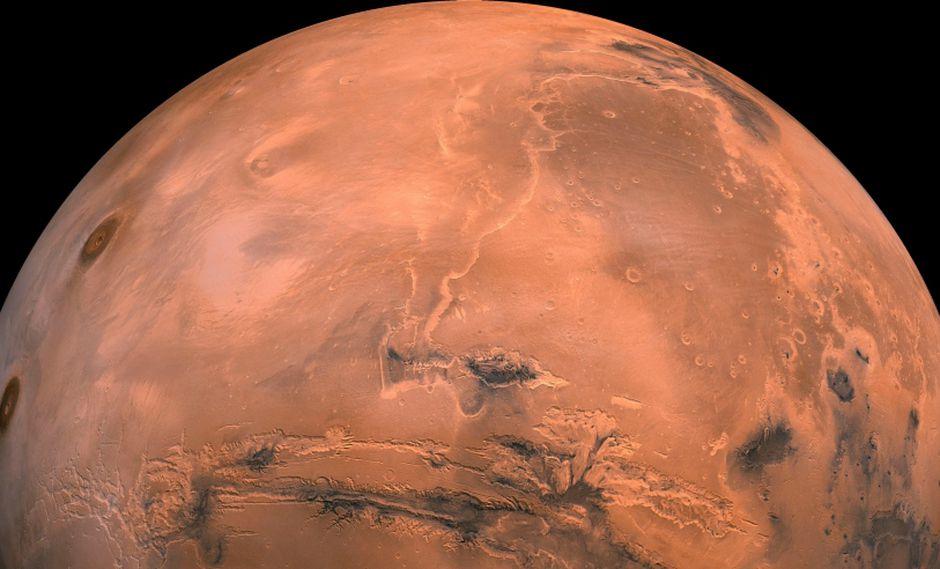 Marte (en la foto) y la Tierra estarán a 57 millones de km, su puntó más próximo en 15 años. (Foto: EFE)