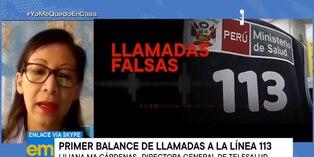 Coronavirus en Perú: 300 líneas fueron bloqueadas por llamadas falsas al 113