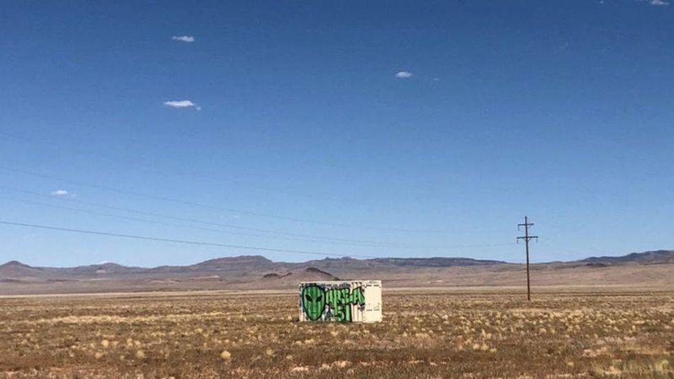 El Área 51 está a unos 48 km de Rachel, en Lincoln, Nevada. (Foto: Reuters)