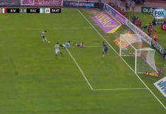 River Plate vs. Racing EN VIVO: 'Millo' anotó 2-0 gracias a disparo de Casco desviado en Donatti | VIDEO