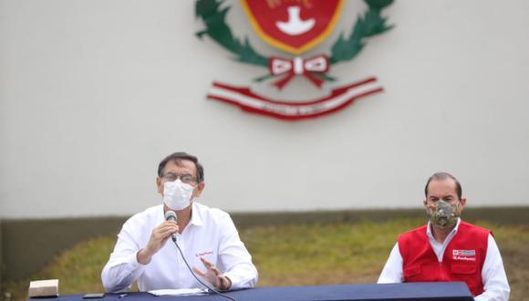 Jefe de Estado pidió a la ciudadanía a que sean responsables luego que el Ejecutivo autorizara el reinicio de operaciones de los centros comerciales en el país. (Foto: Presidencia)