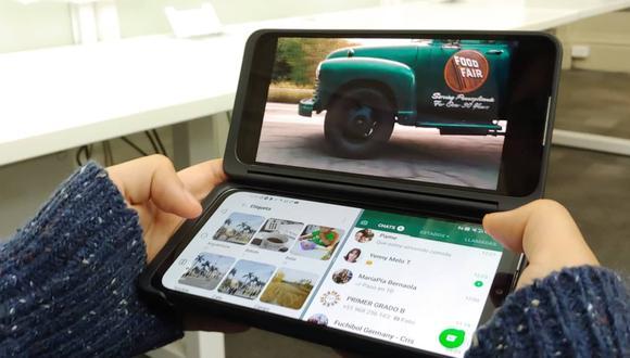 Analizamos el LG G8X ThinQ Dual Screen, el primer celular doble pantalla que llega al Perú. (Foto: Martín Tumay Soto)