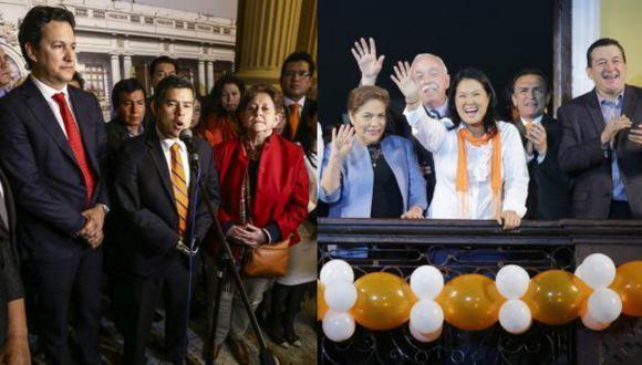 Fujimori en el mototaxi, por Arturo Maldonado