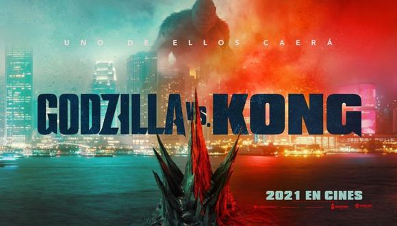 """Aún no se conoce la fecha de estreno de """"Godzila vs Kong"""", cinta cuya llegada se tuvo que ver aplazada por la pandemia de coronavirus. (Foto: Twitter / @GodzilavsKong)"""