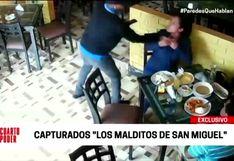 Policía Nacional captura a peligrosa banda dedicaba al robo de accesorios de oro
