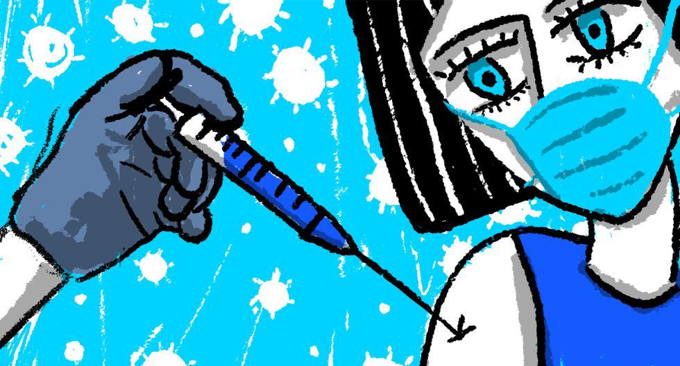 El inicio de la vacunación global es el momento en que la marea se vuelca a nuestro favor. Tomás Unger nos lo explica esta semana. (Ilustración: Giovanni Tazza)