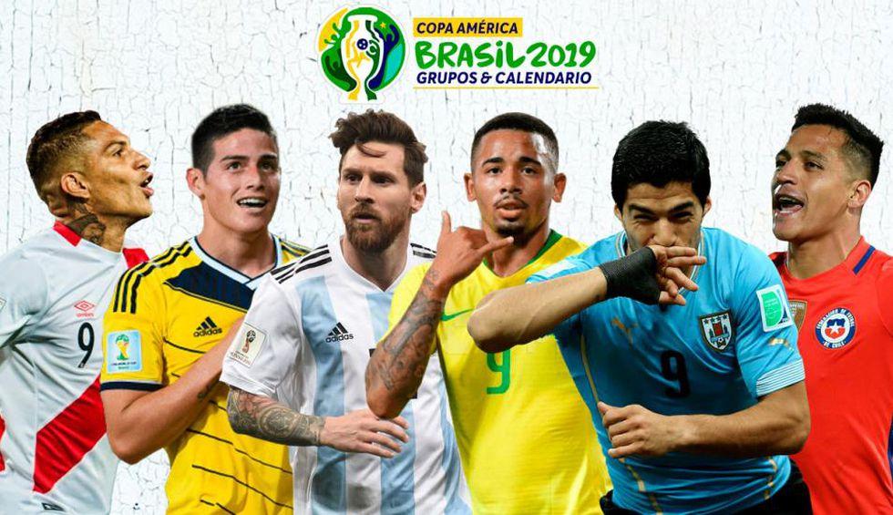Conoce todo los canales TV por país para ver los partidos de la Copa América Brasil 2019.