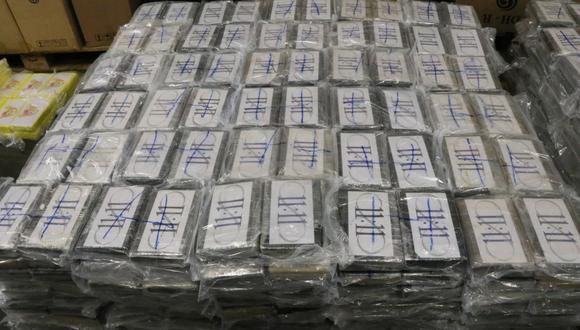 La cocaína incautada ha sido destruida ya bajo estrictas medidas de seguridad y riguroso secreto, constata el comunicado. (Foto: AFP)