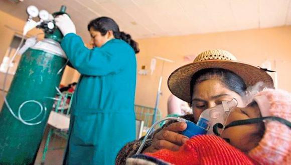 Puno reporta más de 39.000 infecciones respiratorias agudas