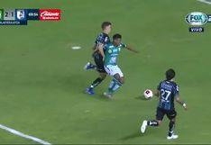 León vs. Querétaro: Aquino, derribado en el área; doblete de Ángel Mena a lo 'Panenka'   VIDEO