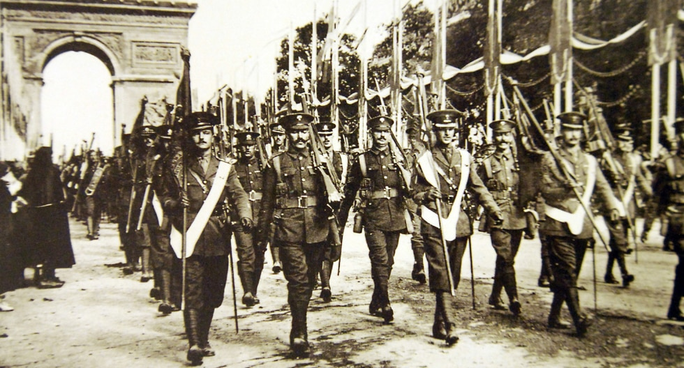 Tratados de paz de la Primera Guerra Mundial