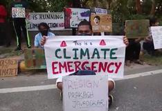 Estudiantes y activistas asiáticos se unen al Día de Acción Global por el clima