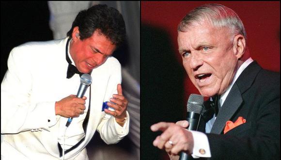 José José y Frank Sinatra, dos leyendas de la música. (Foto: Agencias)