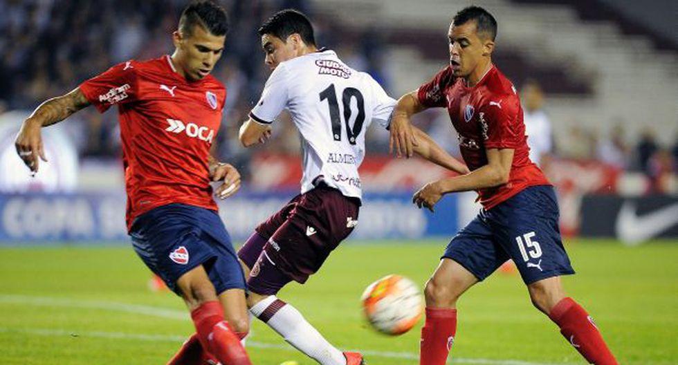 Independiente venció 2-0 a Lanús en la Copa Sudamericana 2016