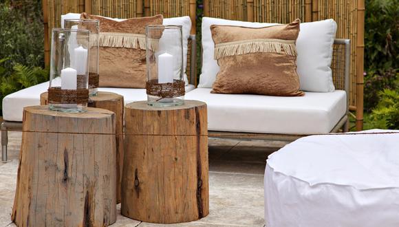 Siete formas creativas de sumar la madera a tu decoración