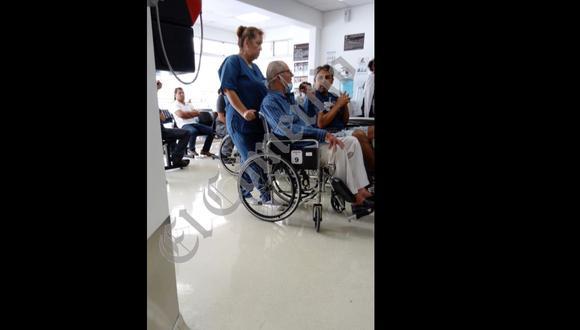 El expresidente fue trasladado a clínica local. (Foto: El Comercio)