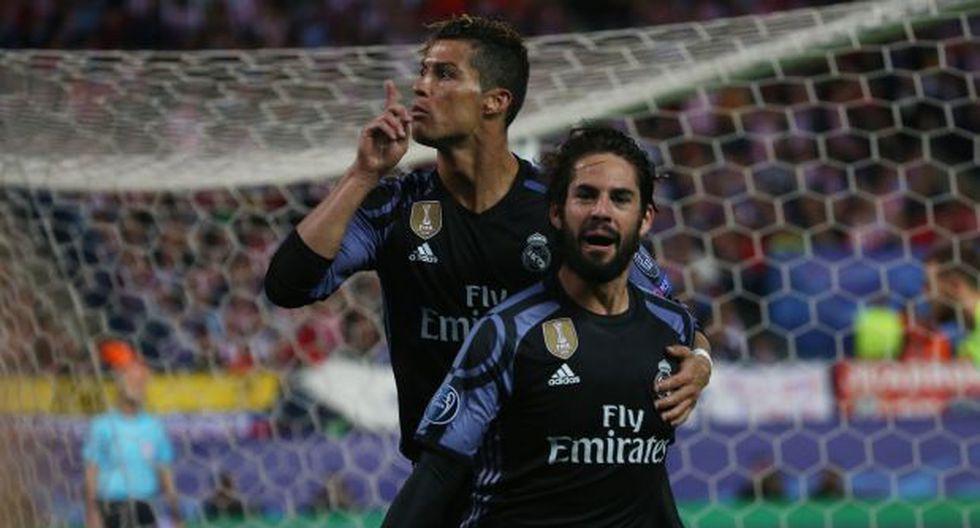 Cristiano Ronaldo mandó callar el Calderón tras gol de Isco