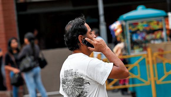 Osiptel autorizó que las operadores suspendan el servicio a clientes morosos. (Foto: GEC/César Fajardo)