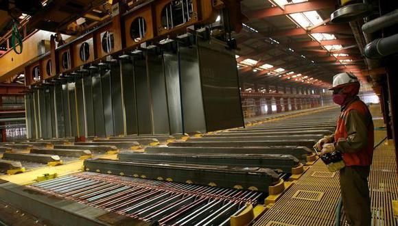 Los precios del cobre subía cerca de un 2% el martes. (Foto: Reuters)
