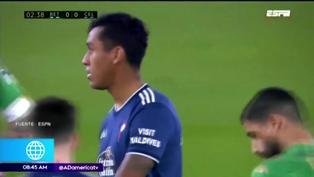 Celta de Vigo de Renato Tapia cayó derrotado en la liga española