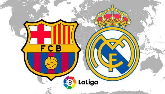 ¿A qué hora juegan Barcelona vs Real Madrid? Te presentamos la programación por país para que no te pierdas de este partido de fútbol en vivo y en directo. (Foto: AFP)