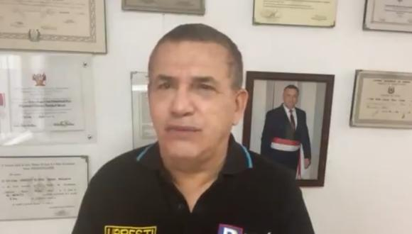 Daniel Urresti exhortó a la población a cumplir con las medidas dictadas por el gobierno para combatir la segunda ola de COVID-19. (Captura video)