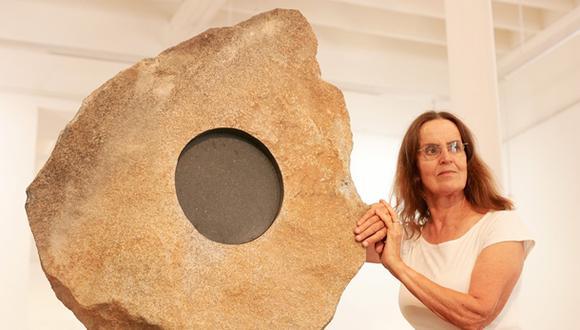 Holandesa de origen y peruana por elección, la escultora Lika Multa deja un legado perdurable. (Foto: Luis Choy/ El Comercio)