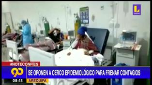 Arequipa: se oponen a cerco epidemiológico para frenar contagios de COVID-19