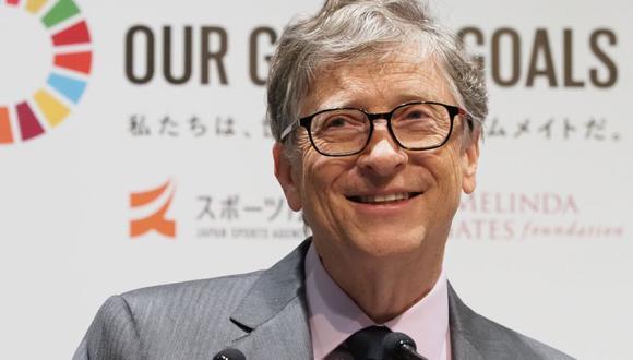 Bill Gates dijo que con su esposa desean darle a una buena calidad de vida sus hijos, a quienes educan con humildad y enseñan a valerse por ellos mismos (Foto: AFP)
