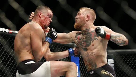 UFC busca rival para Nate Díaz tras salida de Conor McGregor