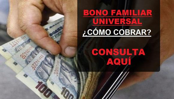 El primer requisito para recibir el bono es no haber sido beneficiario de los subsidios: Yo me quedo en casa, Independiente y Rural (Foto: Andina)