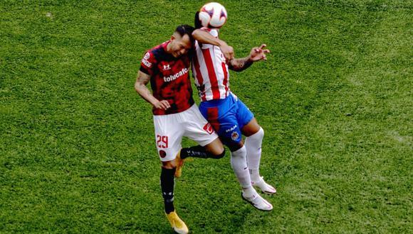 Chivas vs. Toluca se enfrentaron en duelo por la segunda fecha del Clausura de la Liga MX   Foto: @tolucafc