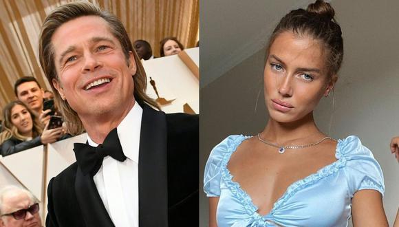 Brad Pitt estaría saliendo con la modelo alemana Nicole Poturalski. (Foto: AFP/Valerie Macon/@nico.potur)