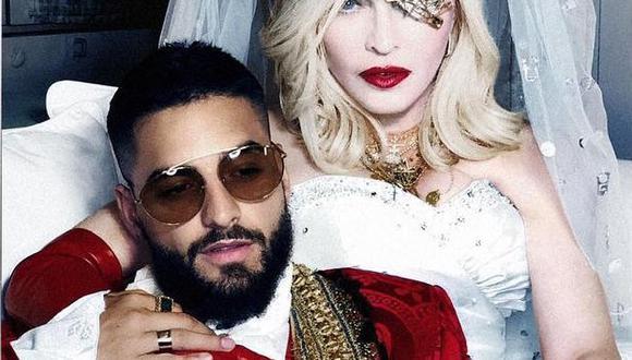 Madonna cumple 62 años y Maluma le dedicó mensaje. (Foto: @maluma)