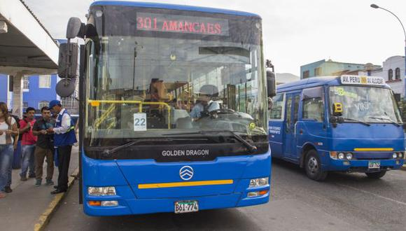 TGA: buses alimentadores operarán cuando haya cobro electrónico
