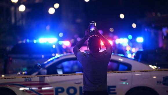Tiroteo en Washington deja al menos tres muertos y tres heridos. (Foto referencial, BRENDAN SMIALOWSKI / AFP).