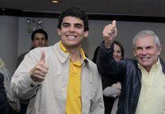 """Hijo de Luis Castañeda Lossio: """"Somos sumamente respetuosos de las decisiones que se tomen"""""""