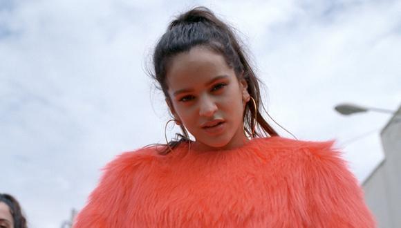 Rosalía actuará en los Premios Goya 2019 (Foto: YouTube)