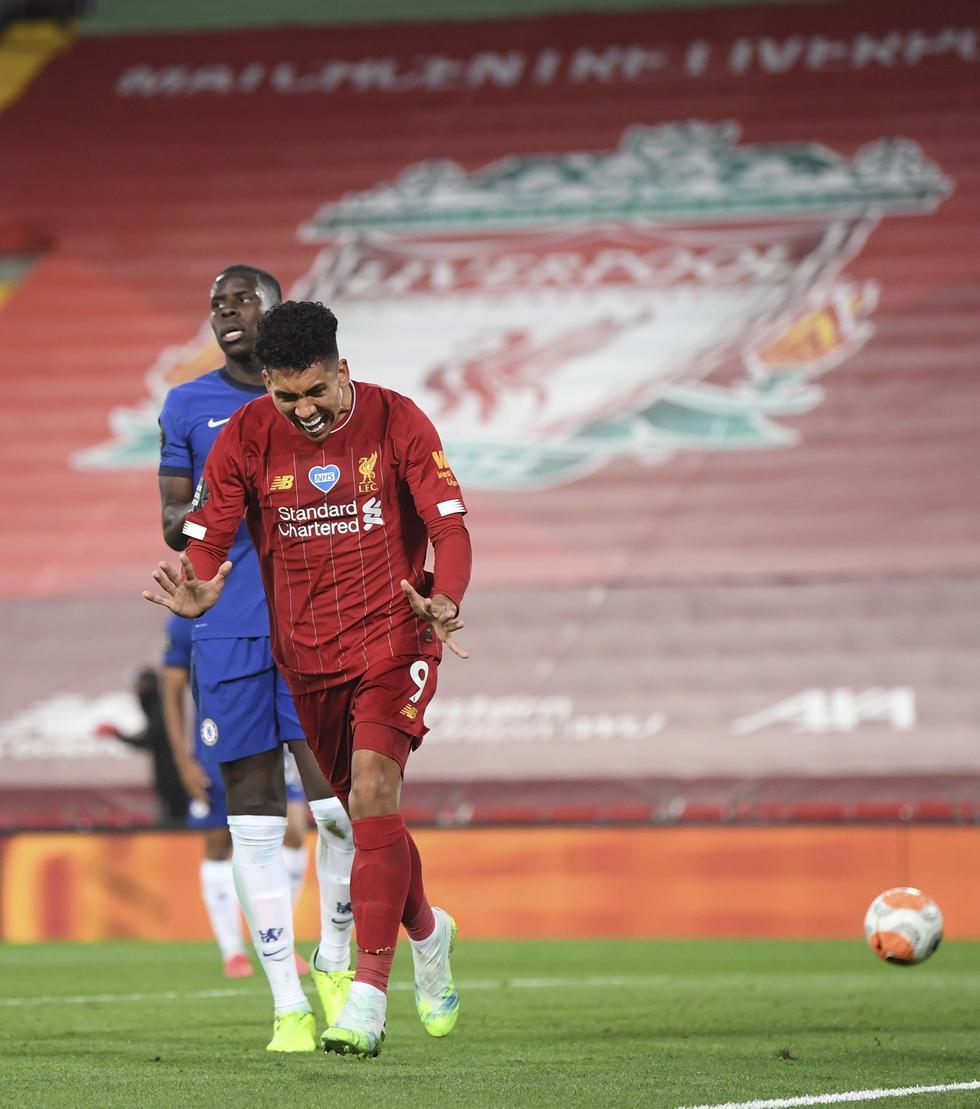 Liverpool enfrentó al Chelsea por la fecha 37 de la Premier League | Foto: AP/EFE/AFP