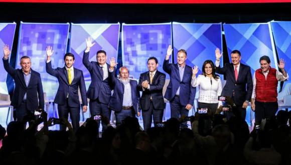 Jorge Muñoz, candidato de Acción Popular a la alcaldía de Lima, dejó atrás a otros postulantes que antes lo superaron en las encuestas. (Foto: Andina)