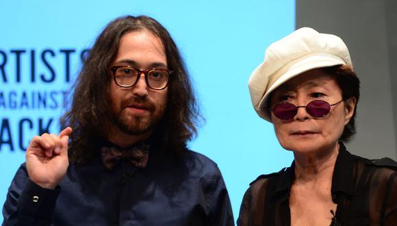 Sean Lennon de 45 años ahora tiene ocho empresas bajo su dirección. Esto tras el estado de salud de Yoko Ono de 87 años. (Foto: Emmanuel Dunand / AFP)