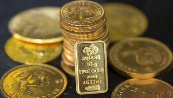Los futuros del oro en Estados Unidos bajaban un 0,1% a US$1.896,30. (Foto: Reuters)