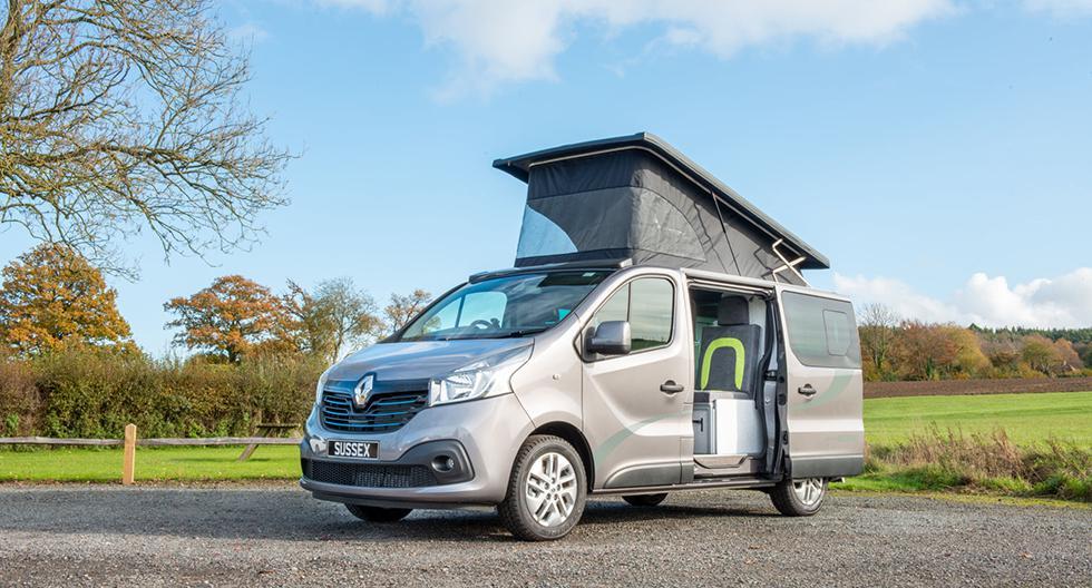 La furgoneta tiene un techo elevado para mayor comodidad y amplitud. (Foto: Sussex Campervans)
