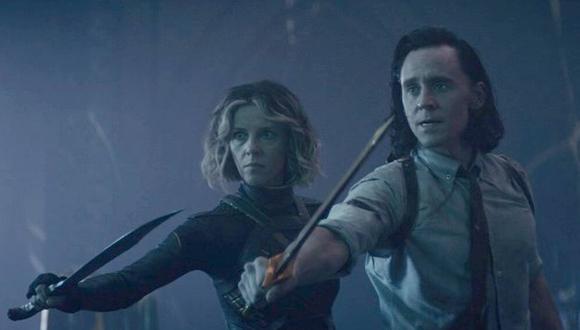 El capítulo 6 comienza con los dos Lokis cruzando un portal que alberga un asteroide con la Ciudadela en el centro y son recibidos por Miss Minutes. Luego conocen a 'Aquel que permanece' (Foto: Disney Plus)