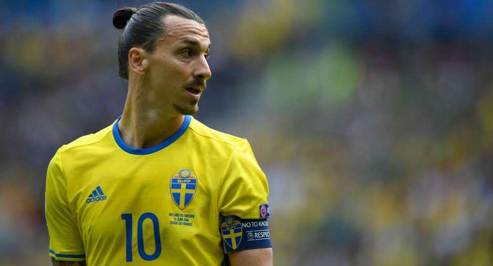 Dos futbolistas de la selección de Suecia expresaron su incomodidad contra Zlatan Ibrahimovic por sus constantes insinuaciones de querer integrar la plantilla que disputará Rusia 2018. (Foto: AFP)