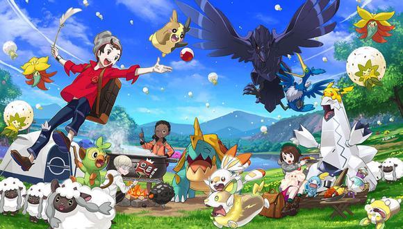 Pokémon Espada y Pokémon Escudo están ambientados en la ficticia región de Galar y llegan con una gran cantidad de nuevas criaturas. (Foto: Nintendo/Game Freak)