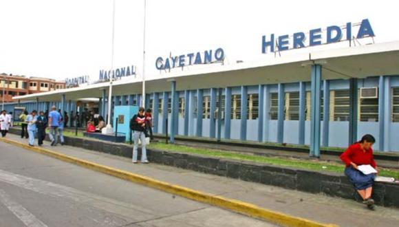 Menores permanecen internados en el hospital Cayetano Heredia. (Foto: Andina)